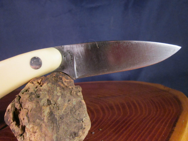 70's Frontier Imperial model 422 caping knife with sheath