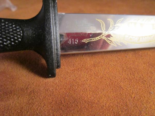 70's Parker Combat series knife set, Seki, Japan