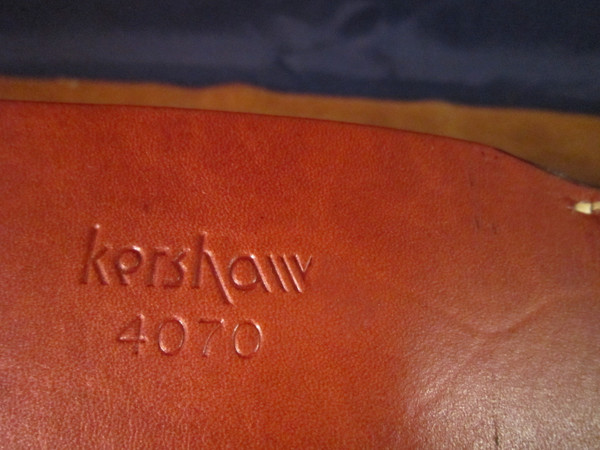 """Kershaw model 4070 - 6"""" Bowie  #1754"""