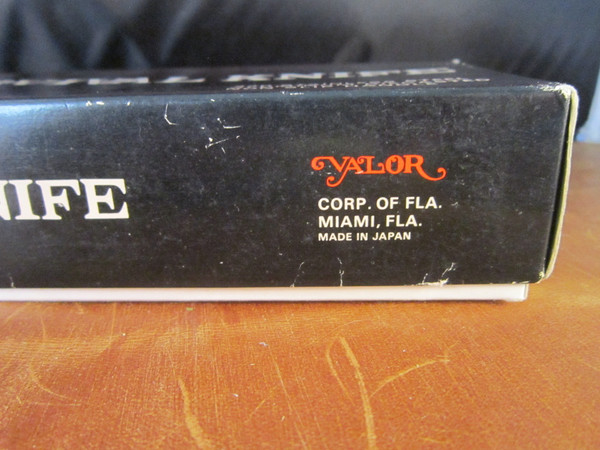 1970s Valor 408 Survival Knife; Made in Seki, Japan