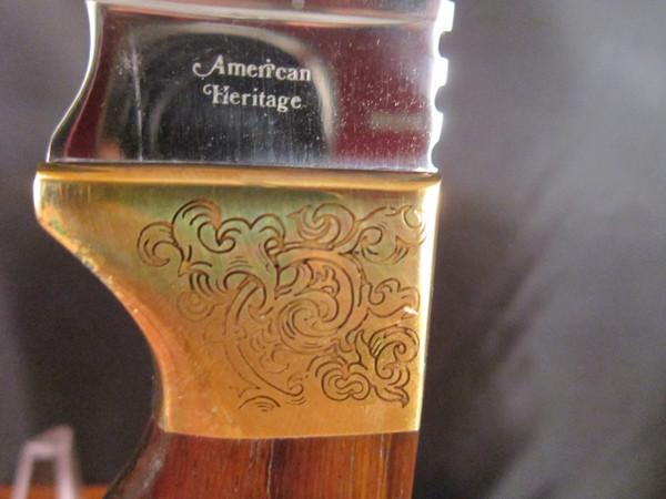 Precise Deerslayer engraved