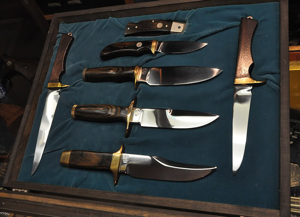 1970's Smith & Wesson Blackie Collins  designed Knives