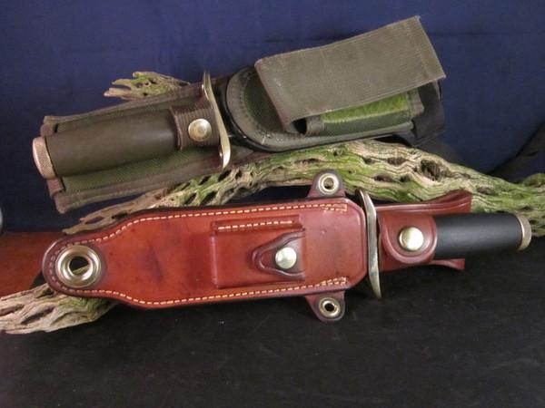 Snake Eyes; Bianchi Nighthawk I & II knives