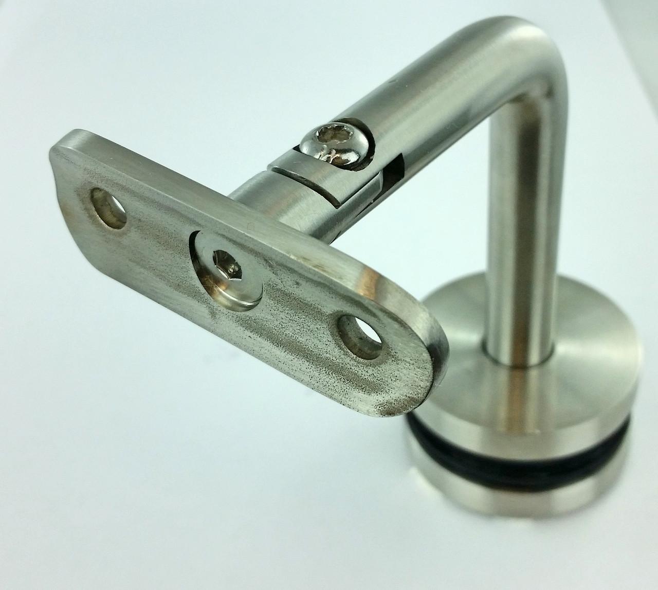 """GB65933250SBS - BL GLASS BRACKET 3"""" X 3"""" SWIVEL TYPE IN SS 316"""