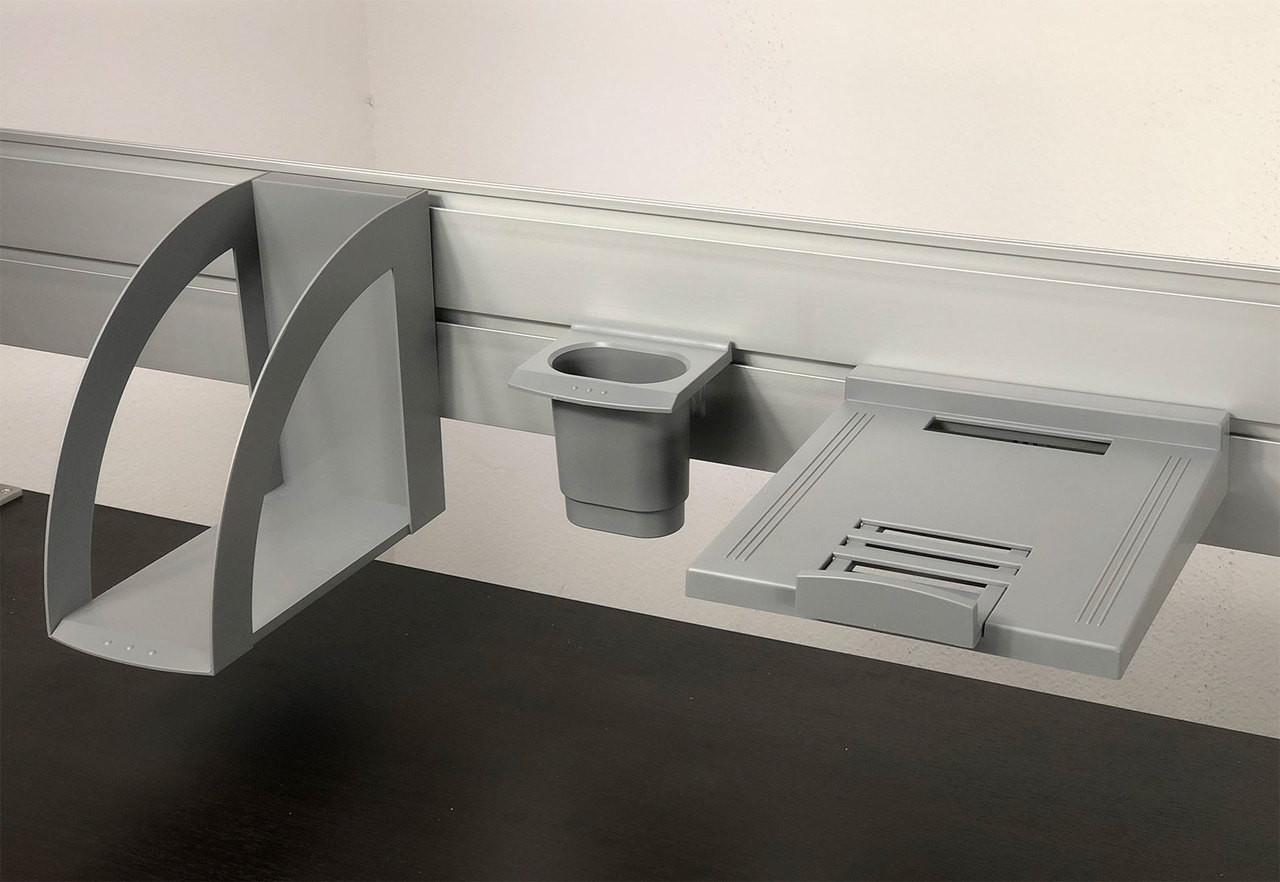 Hanging Accessory Set for Aluminum Organizer / Divider Slatwall, #OT-SUL-HANG3