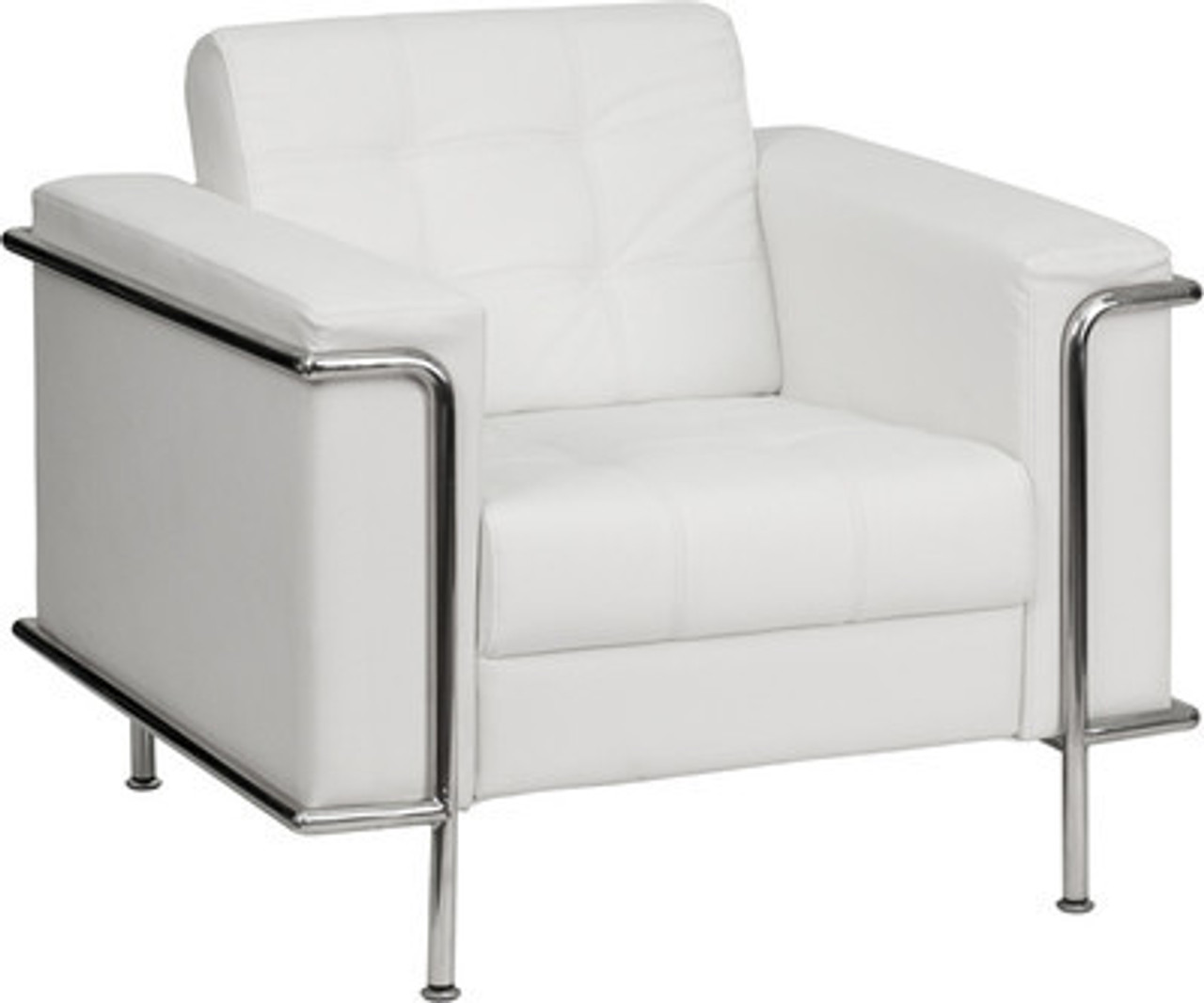 1pc Modern Leather Office Reception Sofa Chair, FF-0445-12
