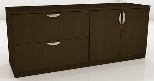 2 Drawers 2 Doors Low Wall Cabinet, #OT-SUL-CAB7