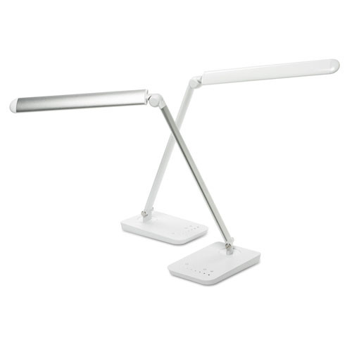 "Vamp Lighting, 16 3/4"" High, White, #SF--110-WH"