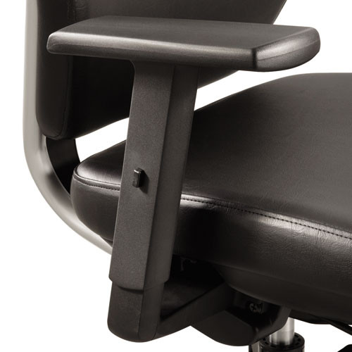 Height-Adjustable T-Pad Arms For Sol Task Chair, Nylon, Black, 2/pair, #SF-5953-BL