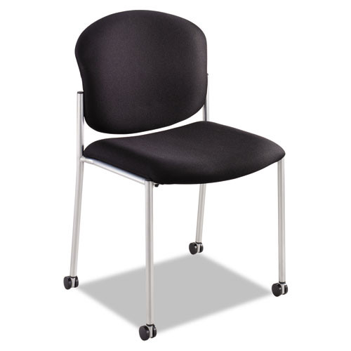 Diaz Guest Chair, Black Fabric, #SF-3083-BL