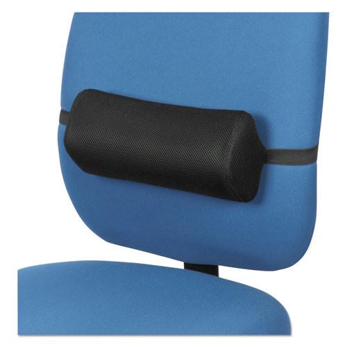 Lumbar Backrest, 14 3/8 X 4 3/4 X 6 1/4, Black, #AL-1055