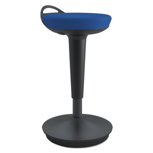 Adaptivergo Balance Perch Stool, Blue With Black Base, #AL-1058