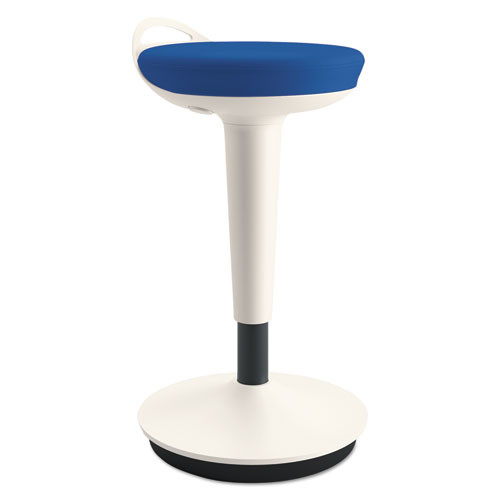 Adaptivergo Balance Perch Stool, Blue With White Base, #AL-1061