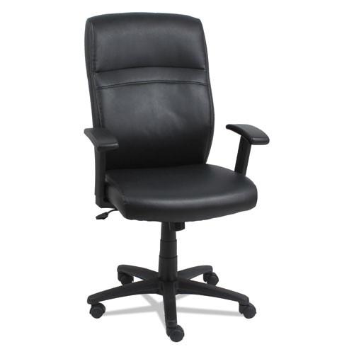High-Back Swivel/tilt Chair, Black/black, #AL-1069