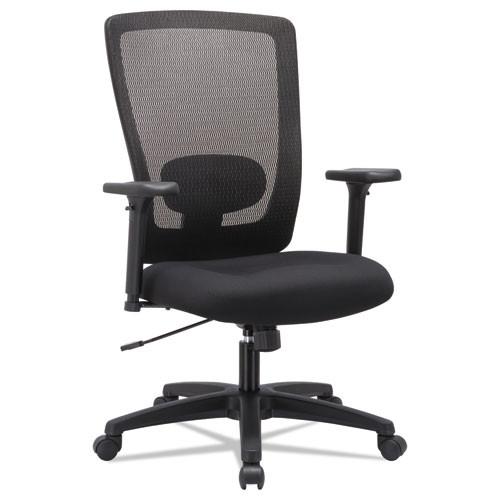 Alera Envy Series Mesh High-Back Swivel/tilt Chair, Black, #AL-1172