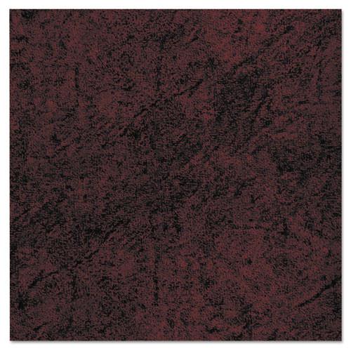 Alera Traditional Series High-Back Chair, Mahogany Finish/oxblood Vinyl, #AL-1222