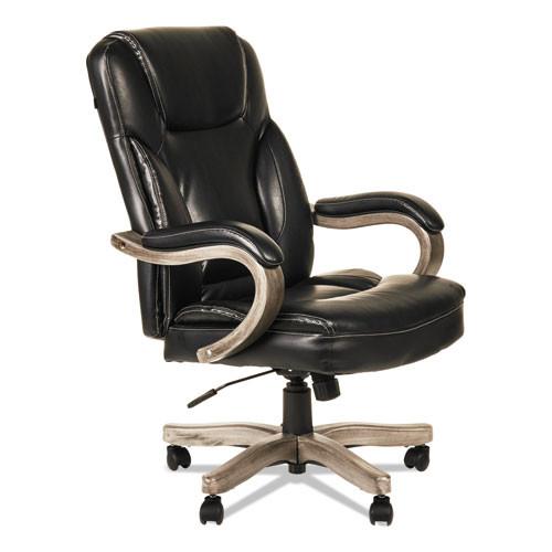 Transitional Series Executive Wood Chair, Black, #AL-1226