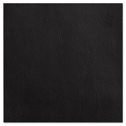 Alera Reception Lounge Series Wood Loveseat, 44 7/8 X 26 1/8 X 33 Black/mahogany, #AL-1451