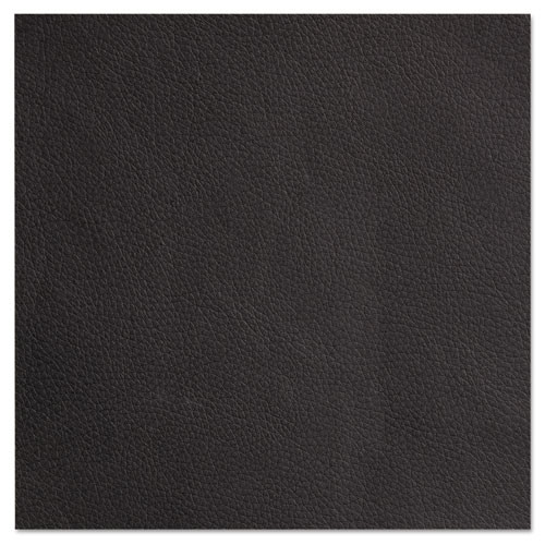 Alera Genaro Series Sled Base Guest Chair, Black Vinyl, #AL-1458