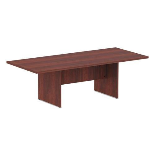 Valencia Series Conference Table, Rectangle, 94.5 X 41 3/8 X 29.5, Medium Cherry, #AL-1609