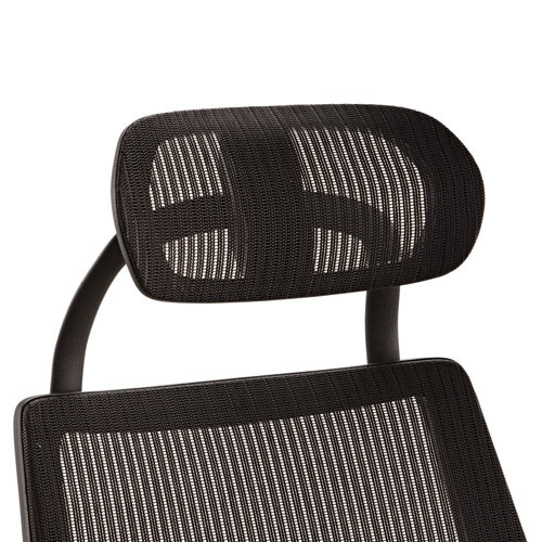 Alera Headrest For K8 Chair, Mesh, Black, #AL-1695