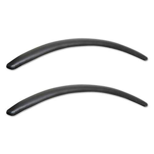 Neratoli Series Replacement Arm Pads, Black, 1 Pair, #AL-1697