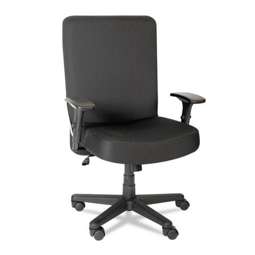 Xl Series Big & Tall High-Back Task Chair, Black, #AL-1819