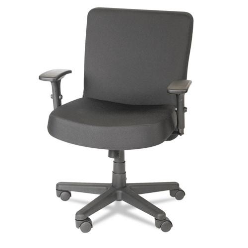 Xl Series Big & Tall Mid-Back Task Chair, Black, #AL-1820