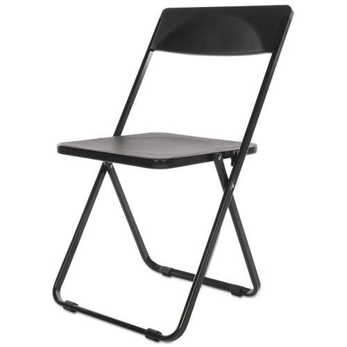 Folding Chair, Black, 4/carton, #AL-1830