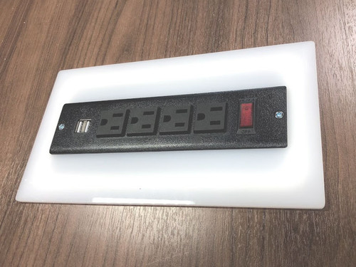 Power Module for Conference Table, #OF-CON-CAB6