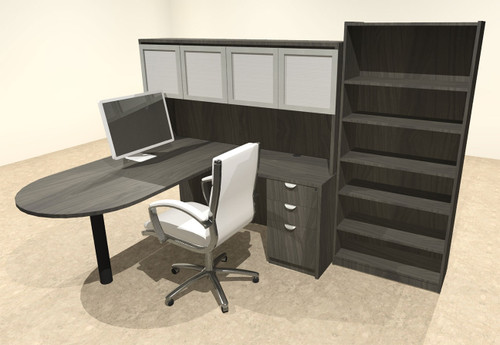 5pc L Shape Modern Executive Office Desk, #OT-SUL-L58