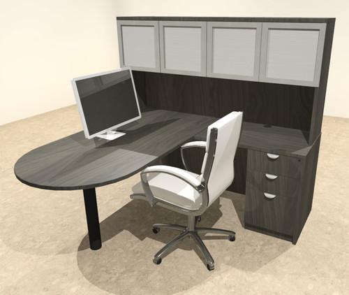 4pc L Shape Modern Executive Office Desk, #OT-SUL-L59