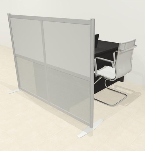 One Loft Modern Office Home Aluminum Frame Partition / Divider / Sneeze Guard, #UT-ALU-P1-A