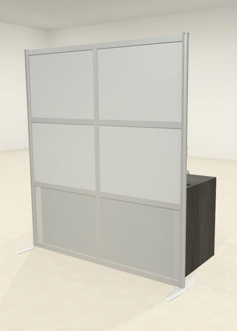 One Loft Modern Office Home Aluminum Frame Partition / Divider / Sneeze Guard, #UT-ALU-P13-A