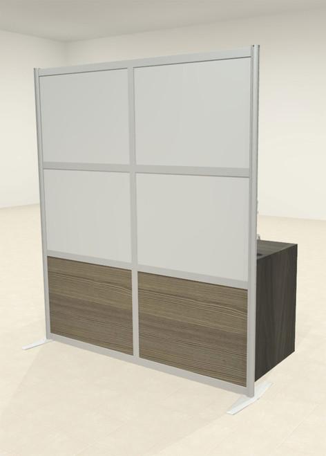 One Loft Modern Office Home Aluminum Frame Partition / Divider / Sneeze Guard, #UT-ALU-P18-A