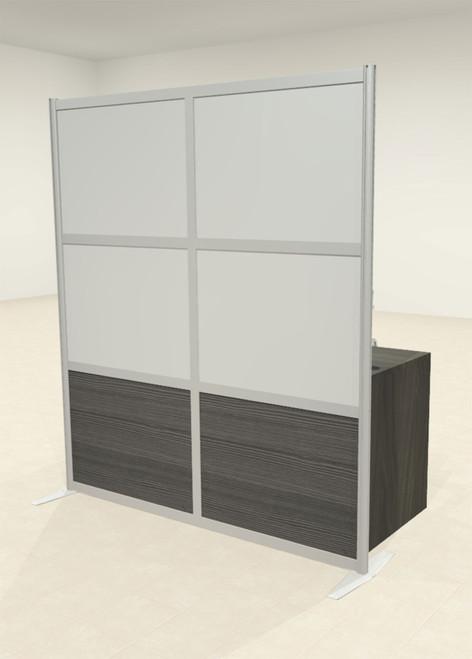 One Loft Modern Office Home Aluminum Frame Partition / Divider / Sneeze Guard, #UT-ALU-P19-A