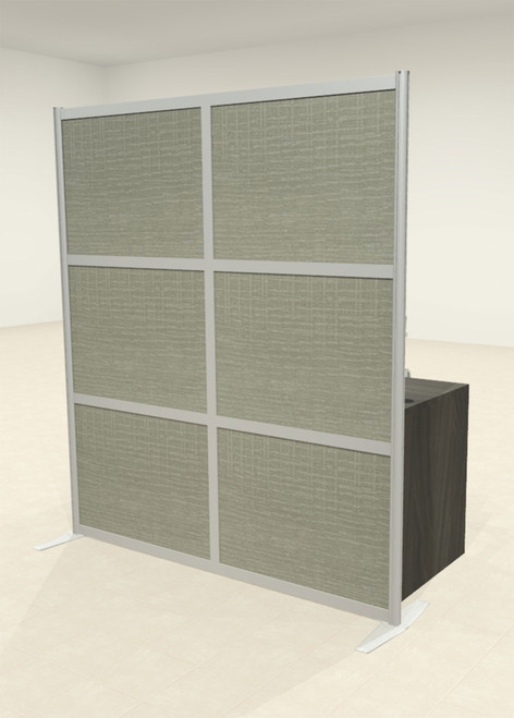 One Loft Modern Office Home Aluminum Frame Partition / Divider / Sneeze Guard, #UT-ALU-P22