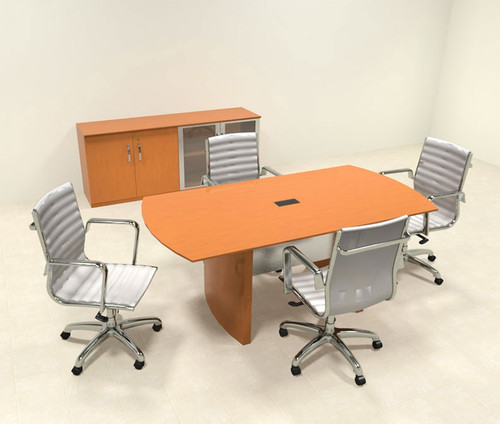 Modern Contemporary 6' Feet Conference Table, #RO-NAP-C1