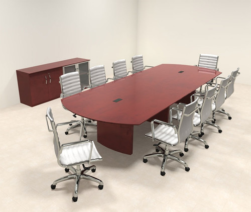 Modern Contemporary 12' Feet Conference Table, #RO-NAP-C11