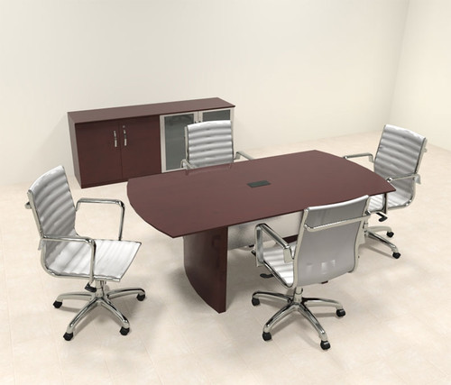 Modern Contemporary 6' Feet Conference Table, #RO-NAP-C3