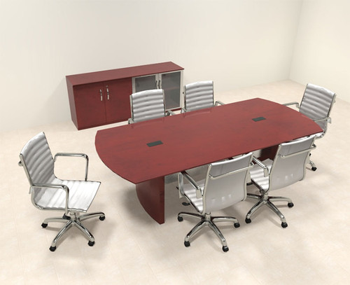 Modern Contemporary 8' Feet Conference Table, #RO-NAP-C5