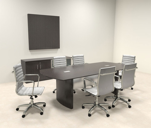 ?ÿModern Contemporary 8' Feet Conference Table, #MT-MED-C3