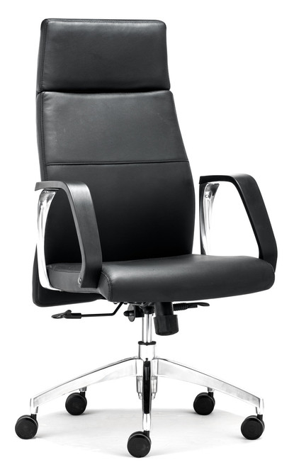Conductor High Back Office Chair Black, ZO-206095