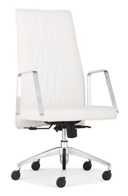 Dean High Back Office Chair White, ZO-206131