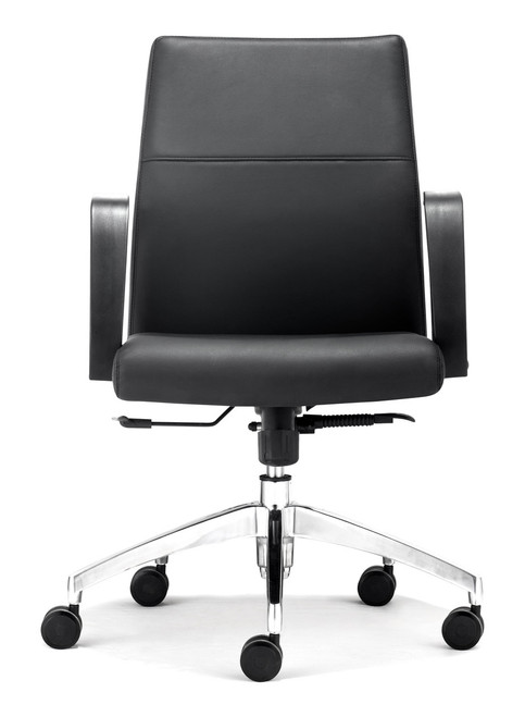 Conductor Low Back Office Chair Black, ZO-206100