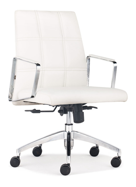 Controller Low Back Office Chair White, ZO-206116