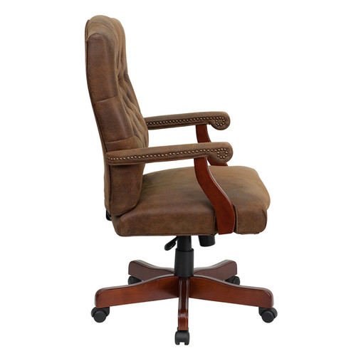Bomber Brown Classic Executive Office Chair , #FF-0289-14
