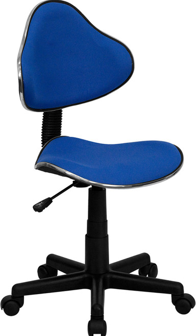 Blue Fabric Ergonomic Task Chair , #FF-0363-14