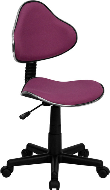 Lavender Fabric Ergonomic Task Chair , #FF-0365-14