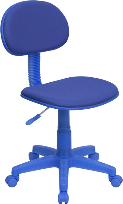 Blue Fabric Ergonomic Task Chair , #FF-0368-14